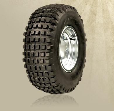 Flat Trak Knobby Tires
